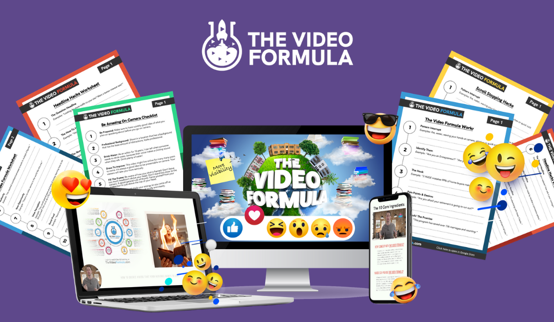 The Video Formula Review – Create A Sales Generating Video In Less Than 60 Minutes